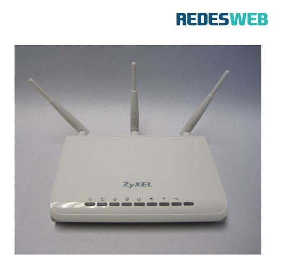 Router Inalámbrico De 300 Mbps - 3 Antenas: X550n Zyxel