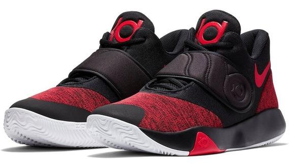 Zapatillas Nike Kd Trey Vi Kevin Durant Basket Black - Red