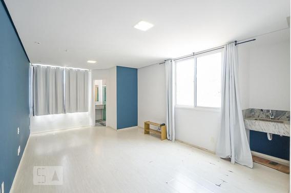 Studio No 7º Andar Com 1 Dormitório E 1 Garagem - Id: 892974713 - 274713