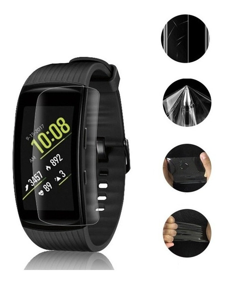 3 X Película Protetora Relógio Samsung Gear Fit 2 Pro (r365)