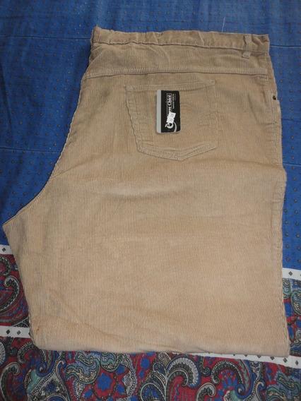 Pantalón Hombre Corderoy Talles Especiales 78/76/70/60/56