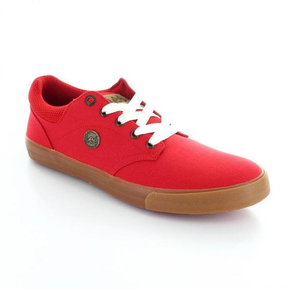 Tenis Para Hombre Lee A-60-045231 Color Rojo