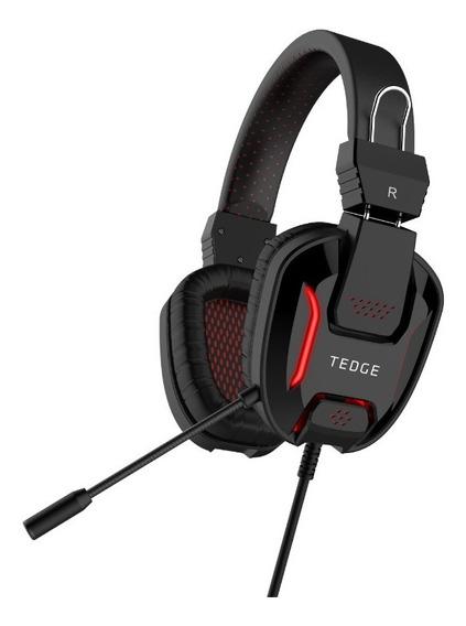 Audífonos Gamers - Tedge - Con Cable Y Microfono