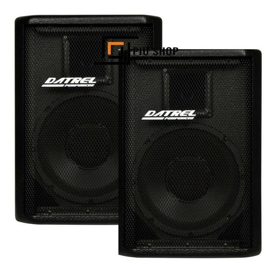 Kit Caixa De Som Ativa Usb + Passiva 500w Rms Bluetooth / Sd