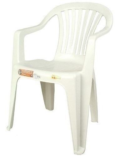 Poltrona Plástica Antares Branca 28114
