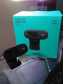 Webcam Longitech Hd C270 720p