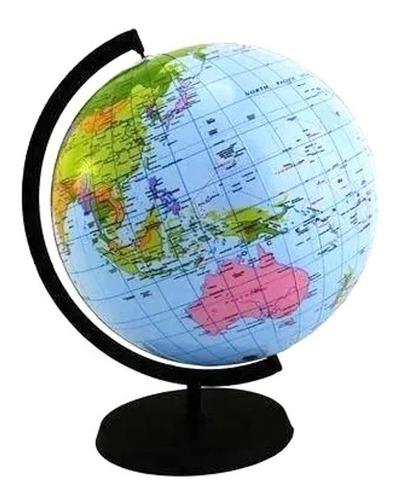 Globo Terraqueo Inflable 2en1 Globo Y Pelota Mundo Mapa 40cm | Mercado Libre