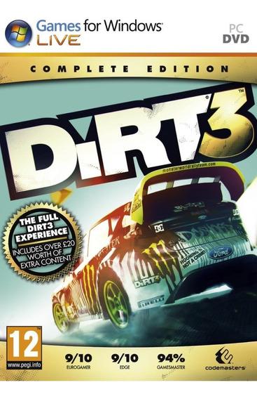 Dirt 3 Complete Edition - Steam Key (envio Rápido)