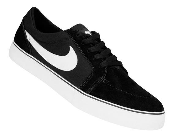 Zapatilla Nike Sb Satire Negro Y Blanco Original