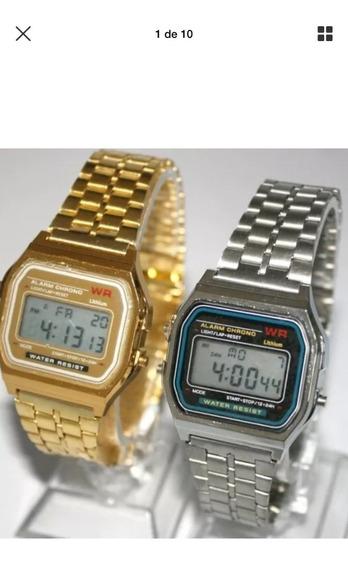 Relógio Digital Retro Vintage Promoção Compre 1 Leve 2