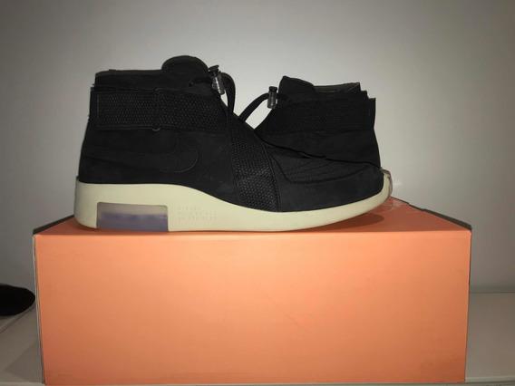 Nike Air Fear Of God Raid Black Fóssil- Size 12