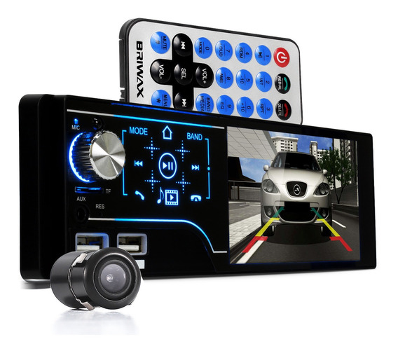 Som Radio Automotivo Mp5 Touch Espelhamento E Câmera De Ré