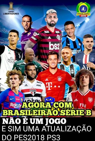 Patch (atualização) Pes 2018 Ps3 Com Brasileirão Série B