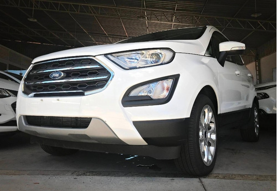 Ford Ecosport Titanium C/ Teto Solar 2.0. Branco 2017/18