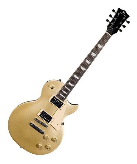 Guitarra Les Paul Michael Gm730n Gd Gold Dourada Showroom