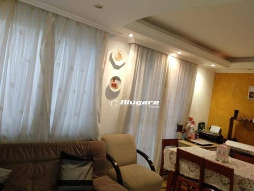 Aceita Permuta No Cecap Apartamento Com 3 Dormitórios À Venda, 65 M² Por R$ 339.000 - Vila Endres - Guarulhos/sp - Ap3065