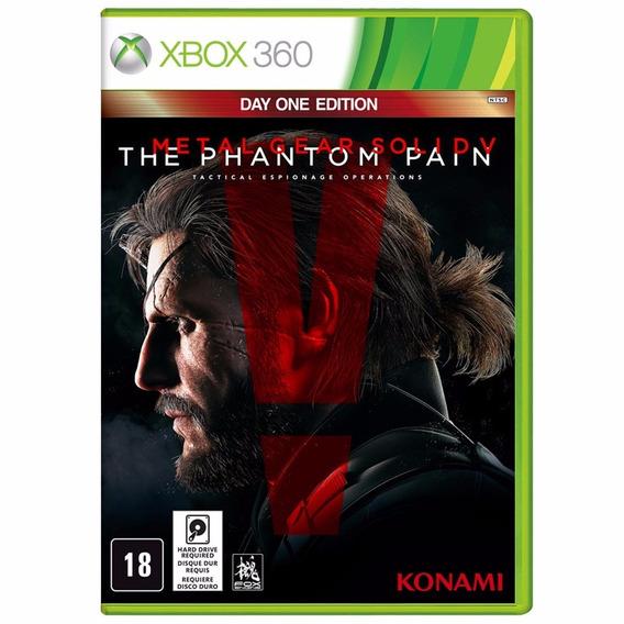 Metal Gear Solid V Phantom Pain (mídia Física) Xbox 360