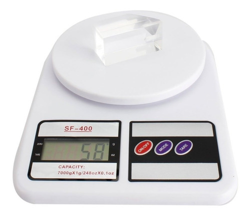 Imagen 1 de 6 de Balanza Electrónica Digital De Cocina 10kilos Alta Precisión