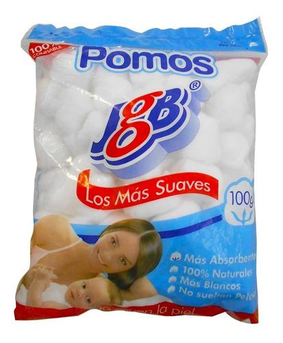 Algodon Jgb Pomos X 100g