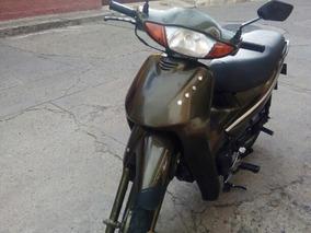 Moto Honda Biz Repotenciada, Muy Buen Estado, Rines De Aspa