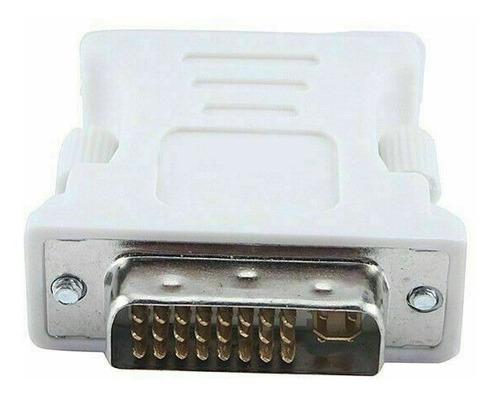 Imagen 1 de 3 de Adaptador Convertidor Dvi A Vga