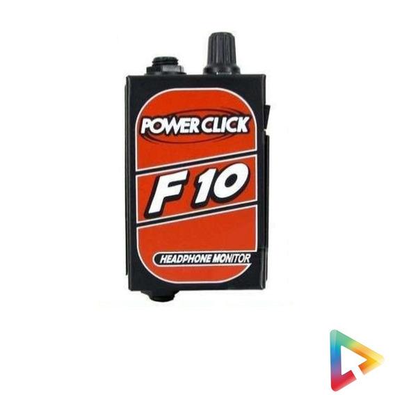 Amplificador Power Click F10 P/ Fones De Ouvido Hl Infomusic