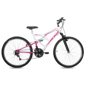 Bicicleta Fullsion Mormaii Aro 26 Branco/rosa