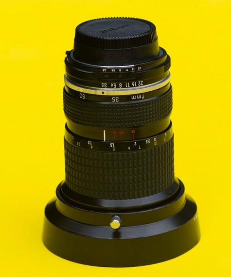 Lente Nikon/35~70mm F3.5 Ai