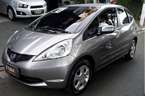 Honda Fit Lx 1.4 Flex Mecânico 2010 Cinza