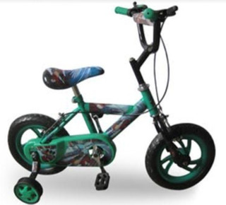 Bicicleta Para Niño Rin12 Plt Clasica Rin Plastico Akr