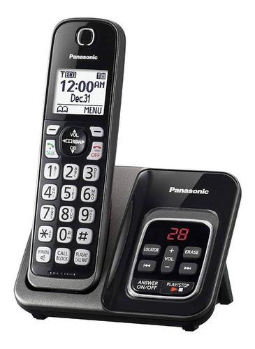 Imagen 1 de 2 de Teléfono inalámbrico Panasonic KX-TGD564 negro
