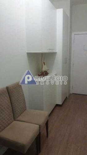 Apartamento À Venda, 1 Quarto, 1 Suíte, Copacabana - Rio De Janeiro/rj - 15783