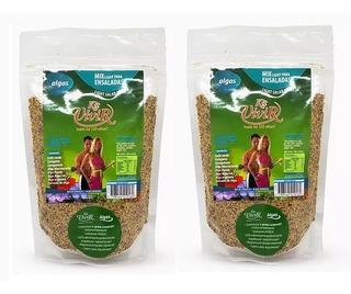 2x Kit Vivir Algas Sport P/ Adelgazar Batido 100% Natural Dw