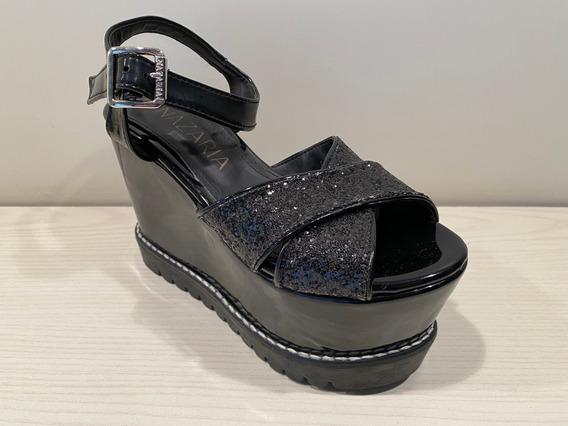 Zapatos Nazaria Elegantes Con Plataforma - Único Talle 35
