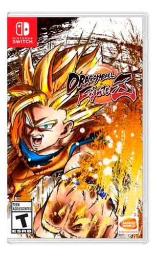 Imagen 1 de 4 de Dragon Ball FighterZ Standard Edition Bandai Namco Nintendo Switch  Físico