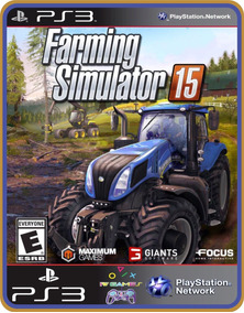 Farming Simulator 15 Ps3 Psn Original Mídia Digital