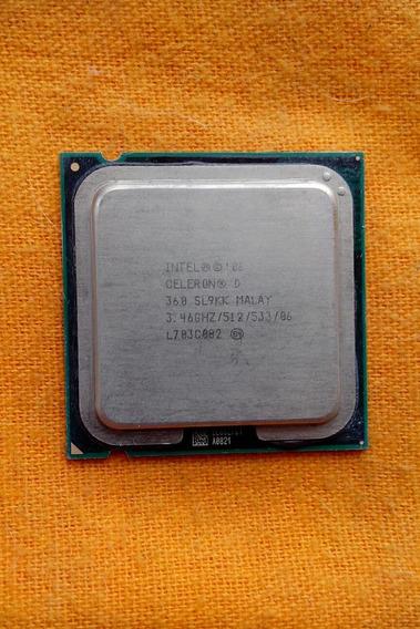Intel Celeron D 06 360 3.46 Ghz