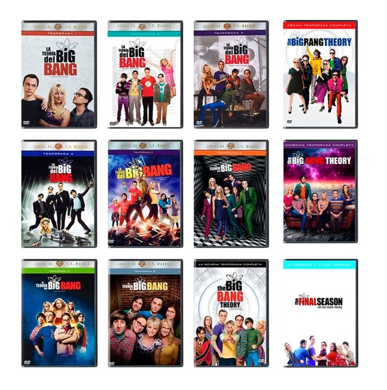 La Teoria Del Big Bang Serie Completa Temp. 1-12 Dual Dvd