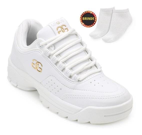 Tênis Dad Sneakers Logus Lg19 + Brinde