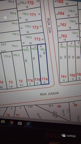 Imagem 1 de 4 de Terreno À Venda, 180 M² Por R$ 350.000,00 - Vila Eldízia - Santo André/sp - Te0004