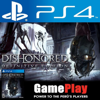 Dishonored. Juego Sellado Playstation 4 Playstation4 Ps4