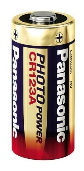 Bateria Pilha 3v Cr123a Lithium Photo - Lacrado Panasonic