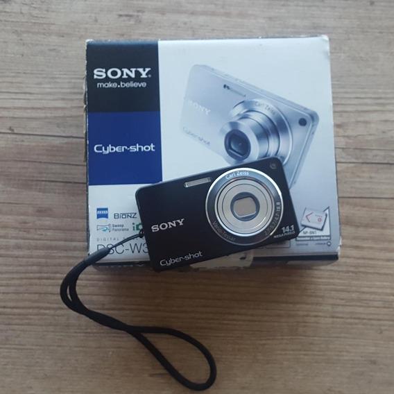 Câmera Digital Sony Cybershot Dsc-w350 - Excelente Estado