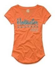 Camisetas Femininas Hollister E Abercrombie