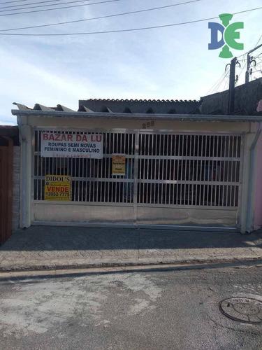 Casa Com 2 Dormitórios À Venda, 145 M² Por R$ 265.000 - Parque Califórnia - Jacareí/sp - Ca0032