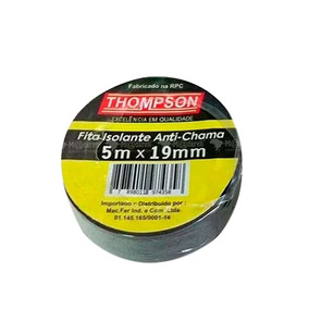 Fita Isolante Anti-chama 5m X 19mm 10 Unidades - Thompson