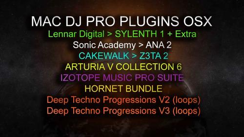 Pacote Dj Plugins Synths Mac Osx - 2018