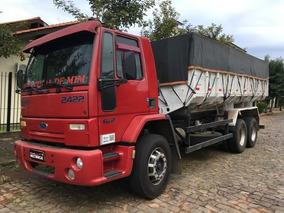 Ford Cargo 2422 - Caçamba - Fernando Caminhões