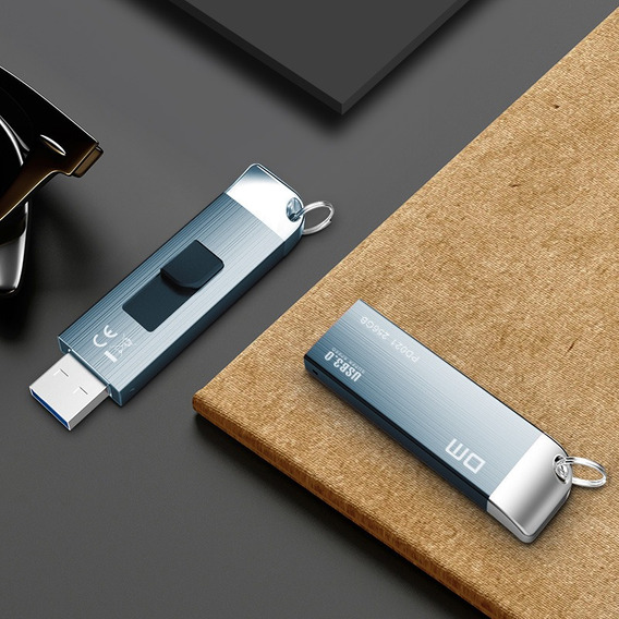 Pen Drive Dm Pd021 Metal 128 Gb Usb 3.0/2.0,alta Velocidade