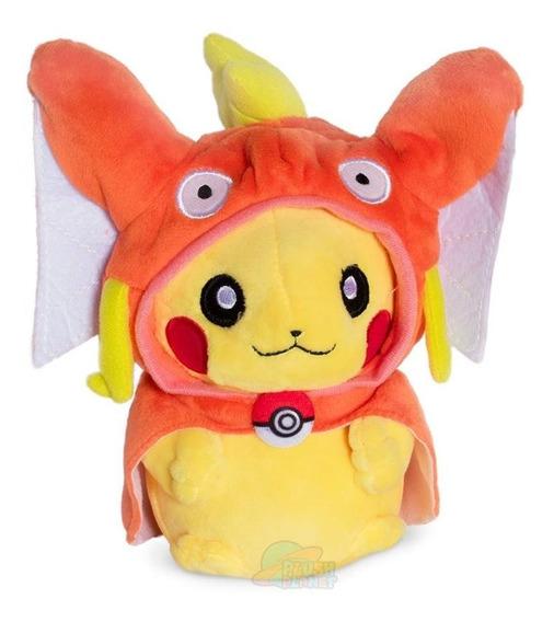 Pelúcia Pikachu Magikarp - Pokémon - 25cm